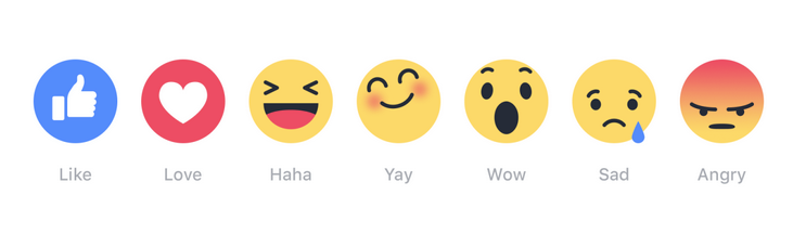 a dislike button for facebook - facebook reactions