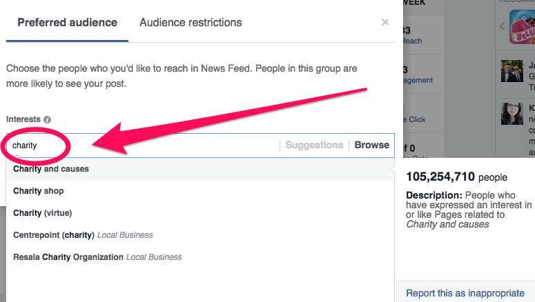 Audience Optimisation - Step 2