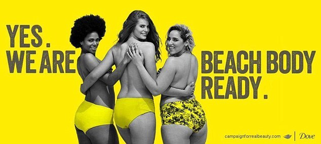 Dove - Yes We are Beach Body Ready
