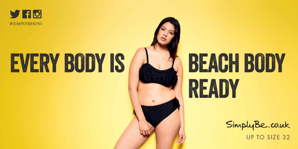 Simply Be - Every Body is Beach Body Ready